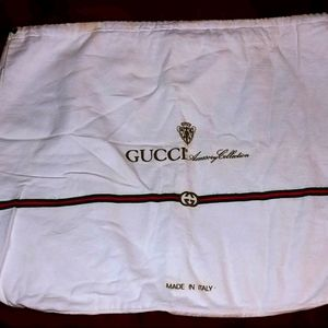 Vintage Gucci dust cover!